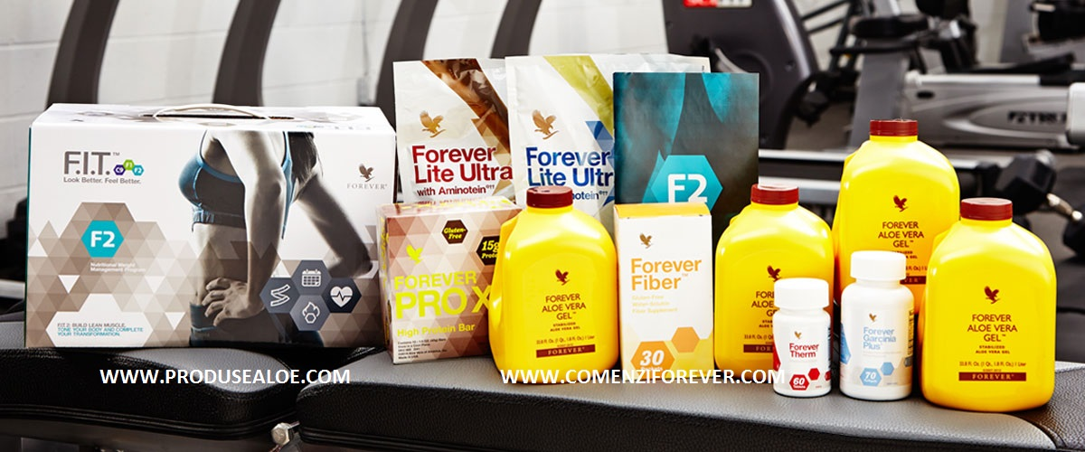 FIT F2 Forever Program nutritional si transformare musculara CE CONTINE PACHETUL DE SLABIRE fit 2