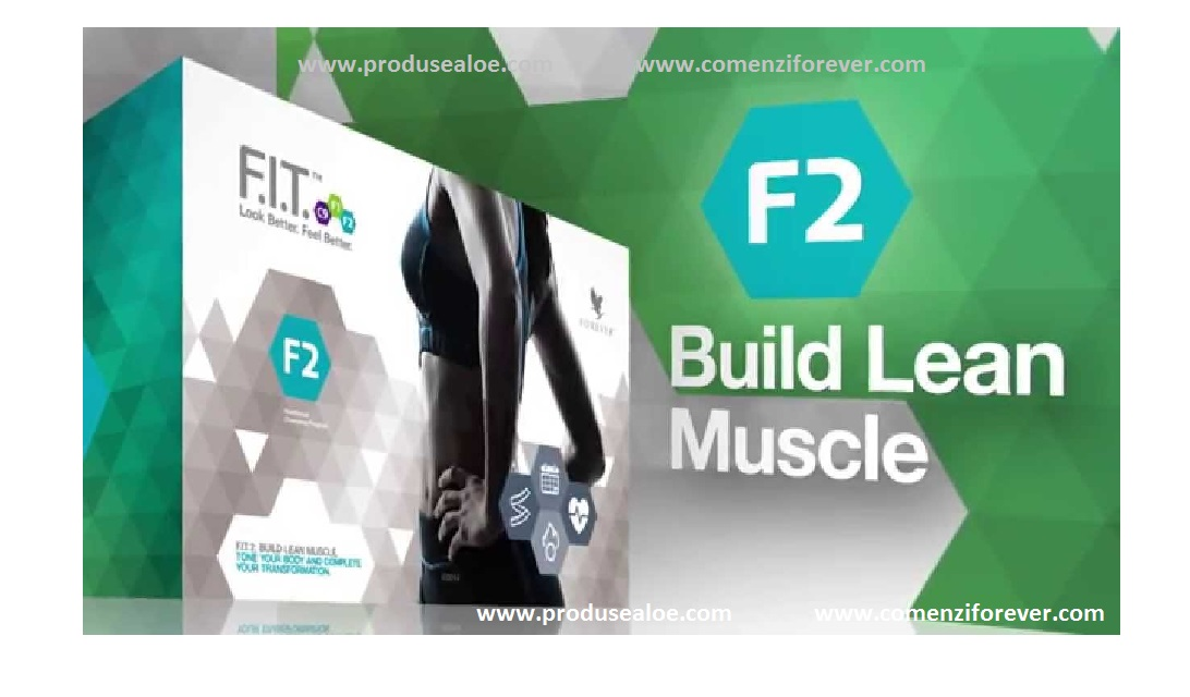 FIT F2 Forever Program nutritional si transformare musculara cutie