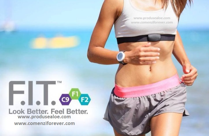 FIT F2 Forever Program nutritional si transformare musculara