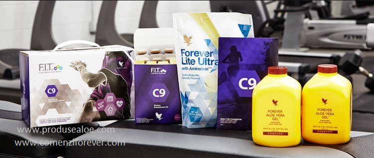 Fit Forever Clean 9 Program de slabire si de detoxifiere forever living