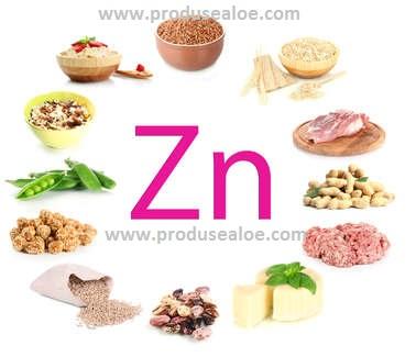 in ce alimente se gaseste zinc miben talalhato cink
