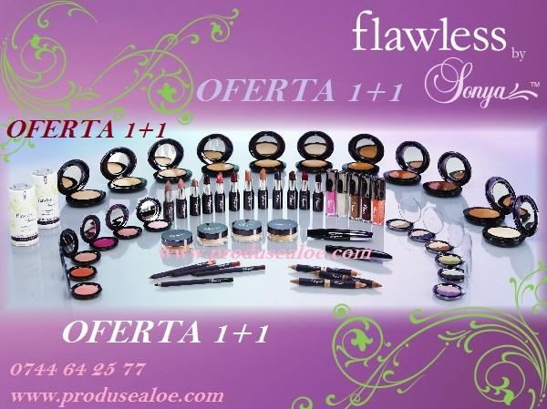 Oferta 1+1 gratis cosmetice sonya FLAWLESS Oferte reduceri produse forever living