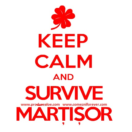 keep calm and survive martisor 1 martie 2015 traditii de martisor