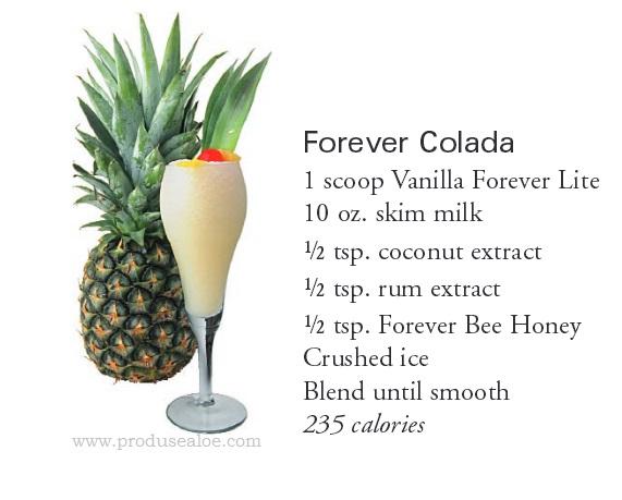 cocktail forever  shake forever colada lite ultra shake