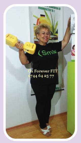AM SLABIT CU FOREVER FIT testimoniale clean 9 forever dieta