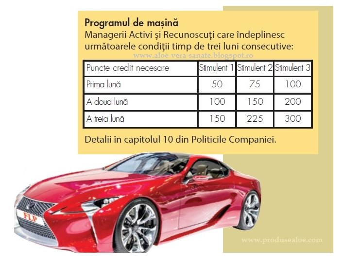 masina de la flp bonus masina de la forever living stimulente de merit 3 nivele