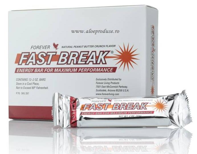 Baton cu energie si proteine Forever Fast Break Energy bar