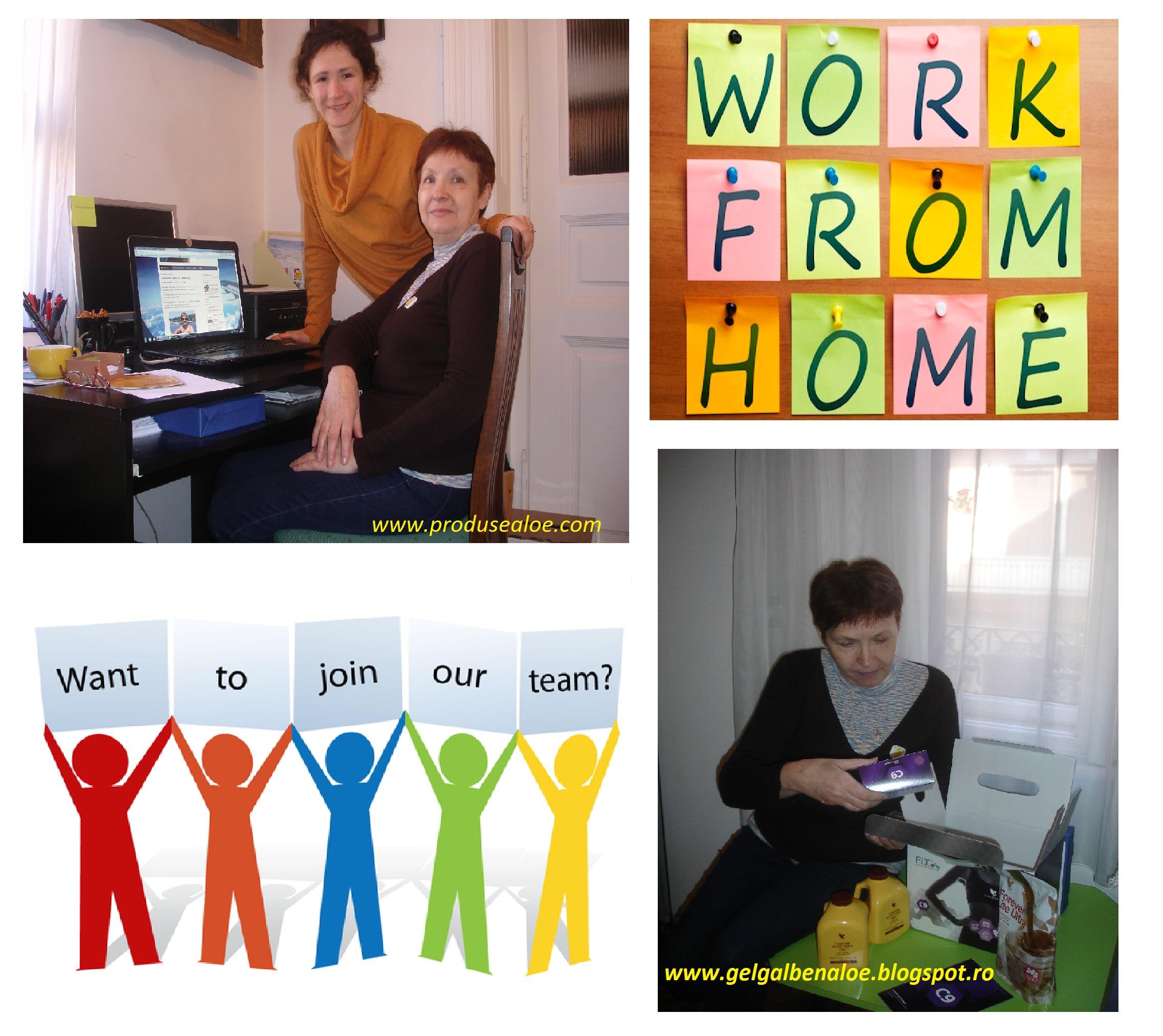 lucreaza de acasa work fom home laptop business forever living