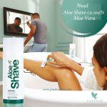 aloe  shave forever living romania