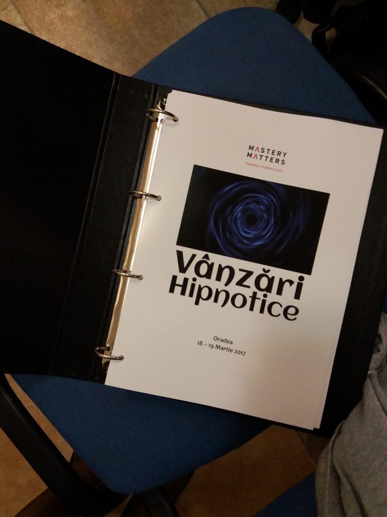 Vanzari Hipnotice by Radu Seuche, Mastery Matters 2017