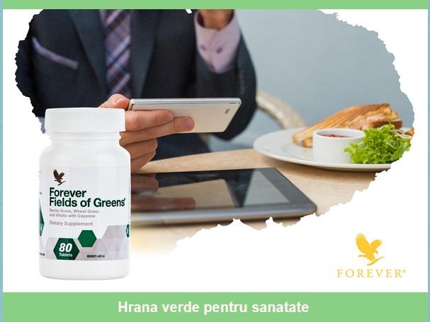 Hrana verde pentru sanatate FIELDS OF GREENS